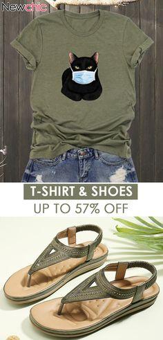 T-shirt Outfits Idea! #casual #fashion #cute