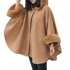 88591e93f1 Winter Fashion Women New Coat Long Sleeve Medium Long Coat Loose Coat cloak  (Asian Size · Winter Coats ...