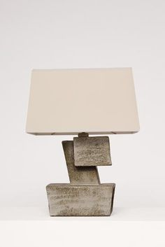 Marius Bessone - Ceramic table lamp - NEW ARRIVALS - Collections - MAGEN H GALLERY