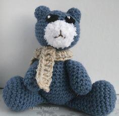 Amigurumi Teddy bear pattern, Amigurumi crochet bear pattern #crochetbear #crochet toy