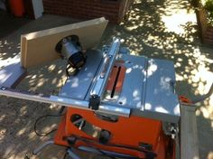 Adding a router to a ridgid ts2400ls portable table saw the garage router insert for ridgid r4510 portable table saw greentooth Gallery