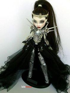 RISERVATO per Amber Mostro Alta custom di Lalarossa Monster