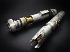 Lightsaber Prop, Lightsaber Design, Custom Lightsaber, Jedi Costume, Jedi Sith, Star Wars Images, Jedi Knight, Skyfall, Fantasy Weapons