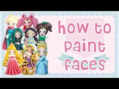 How to Paint Faces on your Polymer Clay Chibis (ENGLISH VERSION) - YouTube