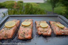 ...Baked Salmon with Garlic and Dijon   NatashasKitchen.com