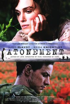 Atonement by Ian McEwan.... I´ve read the book too... but one of the few movies I liked better than the book