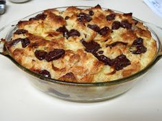 I Believe I Can Fry: Chocolate Croissant Bread Pudding