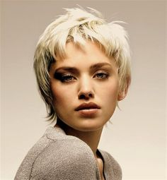 Bing : Short Hair Cuts for Women I really like this.  It's very feminine but strong looking and really enhances your eyes.