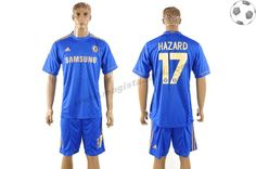 Chelsea Maillot Hazard 17 Domicile 2012-2013 FT3028