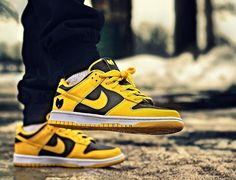 Nike Dunk Low Goldenrod