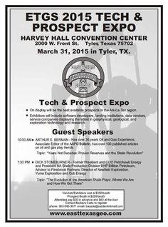 ETGS 2015 Tech & Prospect Expo — March 31, 2015 in Tyler, TX