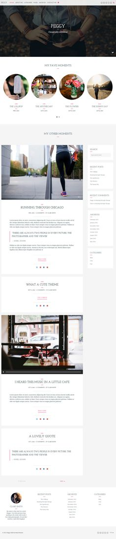 Peggy - A Responsive WordPress Blog Theme #web #wordpress Live Preview and Download: http://themeforest.net/item/peggy-a-responsive-wordpress-blog-theme/10474850?ref=ksioks