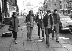 Greenwich Village Folk Scene - Early 60's