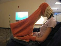A compubody sock...for privacy... I wanna get one of these things just so I can make somebody laugh as hard as I just laughed.