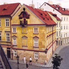 Prague - cute balcony