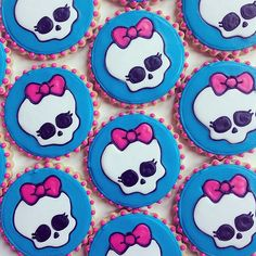 Monster High Cookies #cookiecouture #monsterhighcookies | Flickr - Photo Sharing!