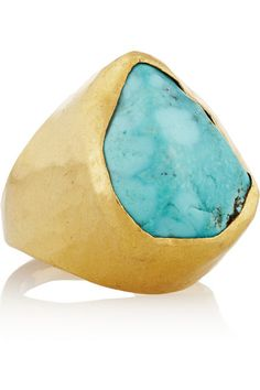 PIPPA SMALL - 18k Gold Turquoise Ring