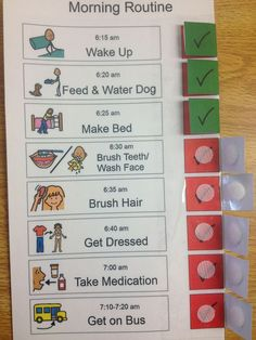 good morning routines for school - good morning routine ; good morning routines for school ; good morning routine wake up ; good morning routine for kids Kinder Routine-chart, Kids Routine Chart, Visual Schedules, Visual Schedule Autism, Visual Schedule Printable, Visual Schedule Preschool, Daily Schedule Kids, Schedule Board, Class Schedule