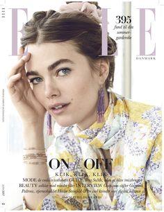 Mathilde Brandi, Elle Magazine [Denmark] (June 2017)
