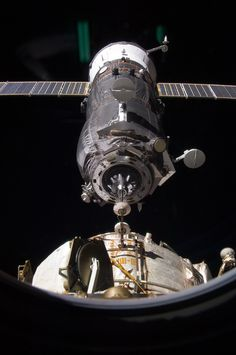 Progress 45 Resupply Vehicle /by NASA #ISS #progress #spaceship