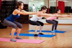 Les squats pour affiner les cuisses - Regimea.com