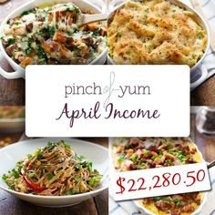 Blog and Income Report   http://pinchofyum.com