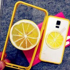 Carcasa TPU diseño limón para tu smartphone Galaxy S6 Edge
