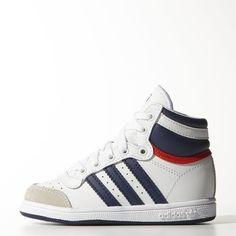 adidas - Top Ten Hi Shoes White / Dark Blue / Red M25303