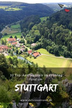 Ideas for your Easter vacation: 10 beautiful spring excursions in and around Stuttgart. For connoisseurs and nature lovers. Europe Destinations, Honeymoon Destinations, Honeymoon Ideas, Easter Vacation, Travel Around The World, Around The Worlds, Easter Holidays, Family Activities, Summer Activities