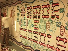 Milano, Salone del Mobile, Wallpaper party.
