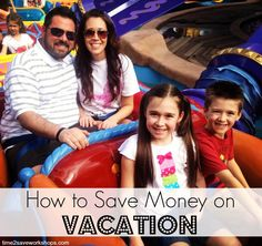 How to save money on vacation. Three simple steps that can make a big difference! #vacation #frugal #save