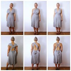Infinity Dress tutorial by Self Assembly Required