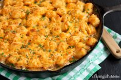 Tator Tot Hotdish {2 ways...with and without canned soup!} - afarmgirlsdabbles.com