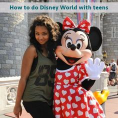 Teens & Disney World - When to go, how to plan your days, and where to eat