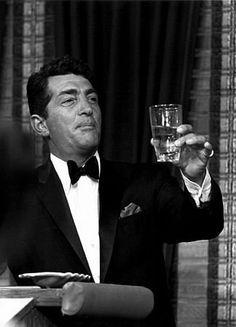 """Dean Martin raising a glass on """"The Dean Martin Show,"""" NBC, 1965"""