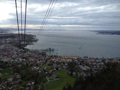 Photo made in Bregenz: view from the Pfänder