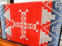 Pendleton Wool blanket  Native American  REVERSIBLE by UrbanCamp