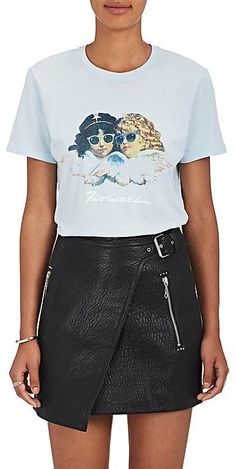 "FIORUCCI Women's ""Vintage Angels"" Cotton Boxy-Fit T-Shirt #affiliate"