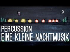 Eine kleine Nachtmusik - Percussion (Wolfgang Amadeus Mozart) - free customizable symbols for percussion instruments (instruments in intro are just examples). Music Class, Music Education, Music Teachers, Health Education, Physical Education, Movement Activities, Music Activities, Music Games, Flute Problems