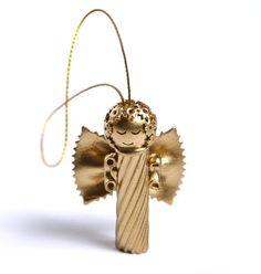 Filléres kreativitás: különleges karácsonyi díszek száraztésztából | Életszépítők