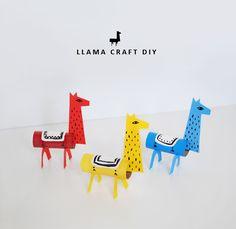 Llama Craft DIY-- cute!!