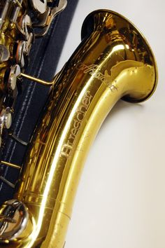 A Buescher Aristocrat. One of the most well made Saxophones out there