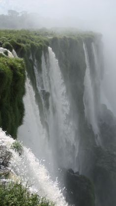 Next to the thundering falls of Iguazu Falls, Argentina; by Briana Thiodet briana.t@travelstore.com