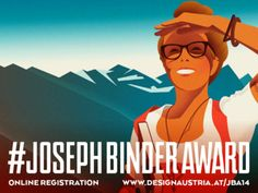 #JosephBinderAward @ designaustria #International #Design #Competition Submit #Graphicdesigns & #Illustrations created after 2012. Bf May 31 - Conditions Apply – Modeconnect.com for Fashion Students Worldwide
