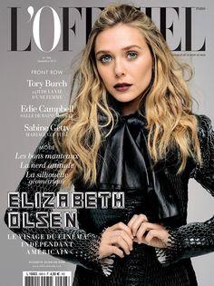 b59e1fd88889a Elizabeth Olsen Gets Dark in Dior for L Officiel Paris September 2015 Cover  Vogue Uk