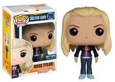 Cabezón Rose Tyler 9 cm. Línea POP! Television. Dr.Who. Funko  Estupendo y simpático cabezón del personaje de Rose Tyler de 9 cm, uno de los que aparecen de la exitosa serie de TV el Dr. Who. Un fantástico cabezón fabricado en vinilo y por supuesto 100% oficial y licenciado.