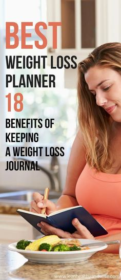 Did you know that using a good weight loss planner can help you better track your food intake, weight loss and fitness efforts so you can lose weight fast? via @leanhealthywise
