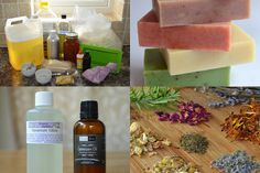 Natural Soapmaking for Beginners - Ingredients - * Lovely Greens *