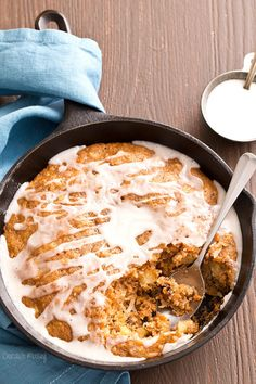 Carrot Cake Skillet Cake and 25 Other Insanely Delicious Cast Iron Desserts