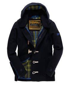 Superdry Classic Duffle Jacket - Men's Jackets
